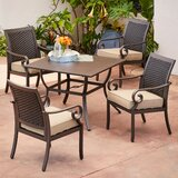Kingston Seymour Milano 5 Piece Dining Set With Cushions