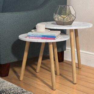 Reviews Chantay 2 Piece Nesting Tables By Zipcode Design
