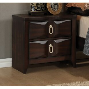 Elidge 2 Drawer Nightstand