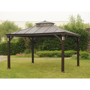 Sunjoy Sonama 12 Ft. W x 10 Ft. D Steel Patio Gazebo