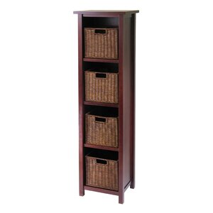Bunker Hill 4 Drawers Tall Storage Shelf