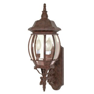 Best Reviews Mackintosh Outdoor Wall Lantern By Alcott Hill