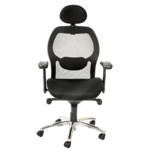 Portland Ergonomic High-Back Mesh Executive Chair By Symple Stuff