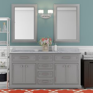 bathroom vanity double sink 60. Colchester 60  Double Sink Bathroom Vanity Set Vanities You ll Love Wayfair