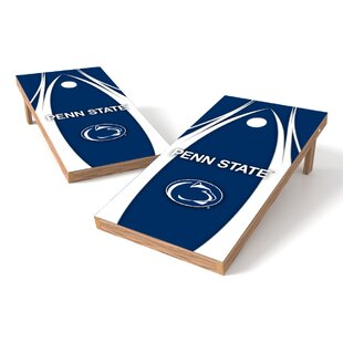 Awesome 2 X 4 Ncaa Solid Wood Cornhole Board Dailytribune Chair Design For Home Dailytribuneorg