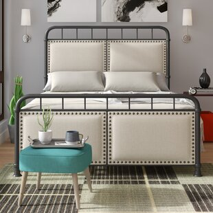 Peachey Queen Upholstered Panel Bed by Wrought Studio