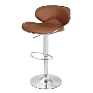 Margarites Adjustable Height Bar Stool (Set of 2) by Orren Ellis