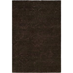 Sihanoukville Hand-Knotted Dark Gray/Purple Area Rug
