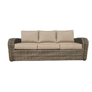 Desalvo Patio Sofa with Sunbrella Cushions