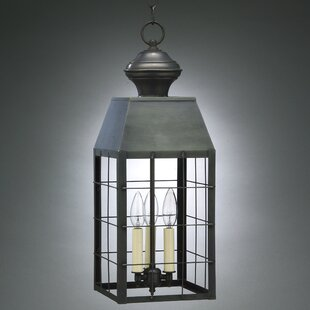 Best Reviews Woodcliffe 3-Light Outdoor Hanging Lantern By Northeast Lantern