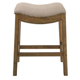 Montserrat Saddle Style Counter Height 25 Bar Stool