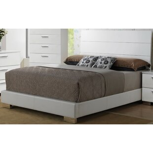 Dias Upholstered Panel Bed