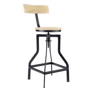 Singletary Height Adjustable Bar Stool By Williston Forge