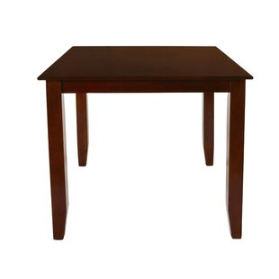 Isai Counter Height Solid Wood Dining Table