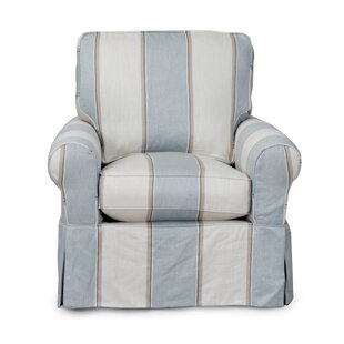 Review Coral Gables Slipcovered Armchair by Beachcrest Home