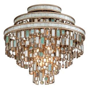 Corbett Lighting Dolcetti 3-Light Semi Flush Mount