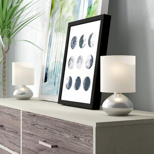 Ariana Mini Touch 9.2 Table Lamp with Drum Shade Set (Set of 2)
