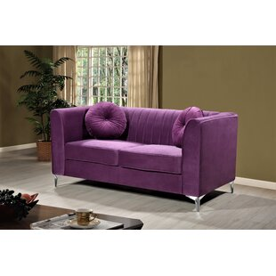 Aadvik Chesterfield Loveseat