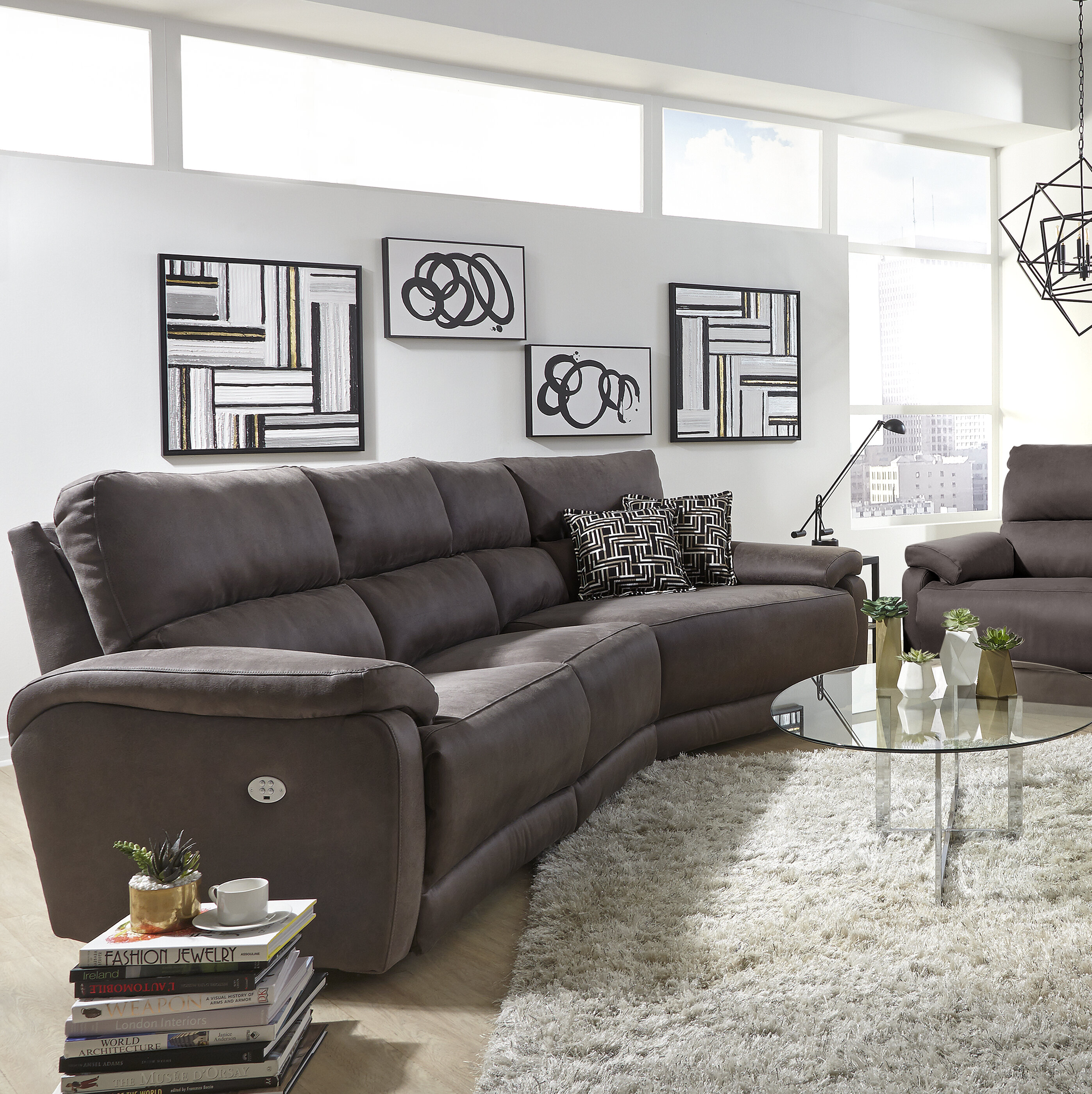 Southern Motion Top Secret Reclining Sectional