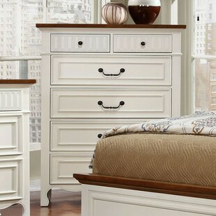 Esposito Cottage-Inspired 6 Drawer Chest
