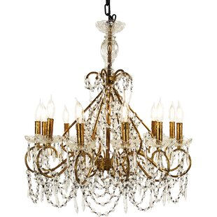 Zentique Fauna 12-Light Candle Style Chandelier