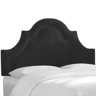 Kyler Arched Border California King Upholstered Panel Headboard by Rosdorf Park