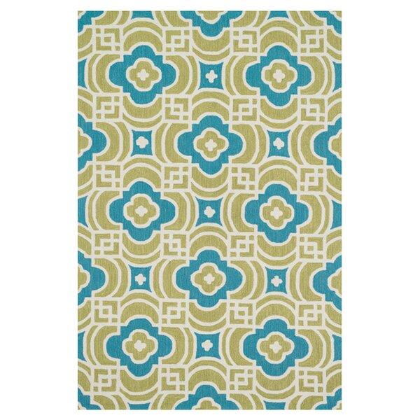 Loloi Rugs Francesca Hand Woven Lime/Blue Area Rug U0026 Reviews   Wayfair