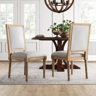 Lachance Rectangular Upholstered Dining Chair (Set of 2)