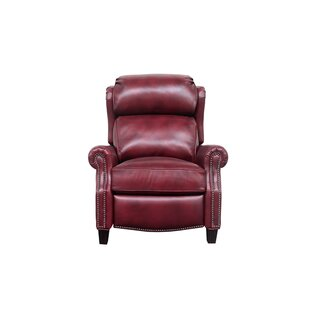 Lenhardt Leather Manual Recliner Darby Home Co
