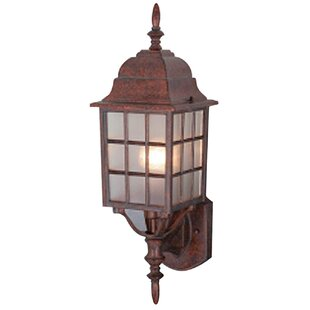 1-Light Outdoor Wall Sconce By Hardware House Outdoor Lighting