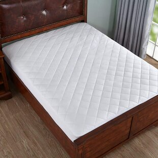 Alwyn Home Raymond Quilted Fitted Hypoallergenic Mattress Cover