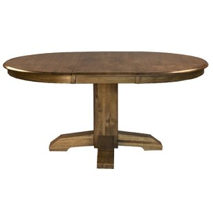 One Allium Way Ian Solid Wood Dining Table