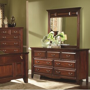 Hoisington 7 Drawer Dresser with Mirror