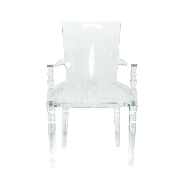 Superieur ModShop Juliette Lucite Dining Chair | Wayfair