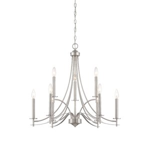 Naugatuck 9-Light Candle-Style Chandelier