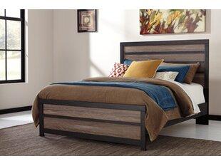 Mercury Row Arjun Panel Bed