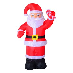 8 indooroutdoor led inflatable holiday christmas yard decoration
