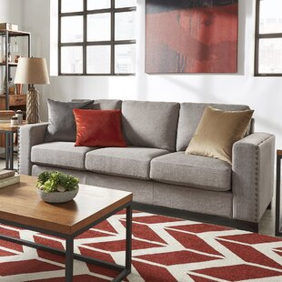 Reviews Onancock Nailhead Trim Sofa by Brayden Studio Reviews (2019) & Buyer's Guide