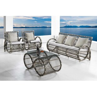 Lintz Infinity 4 Piece Sofa Set with Cushions
