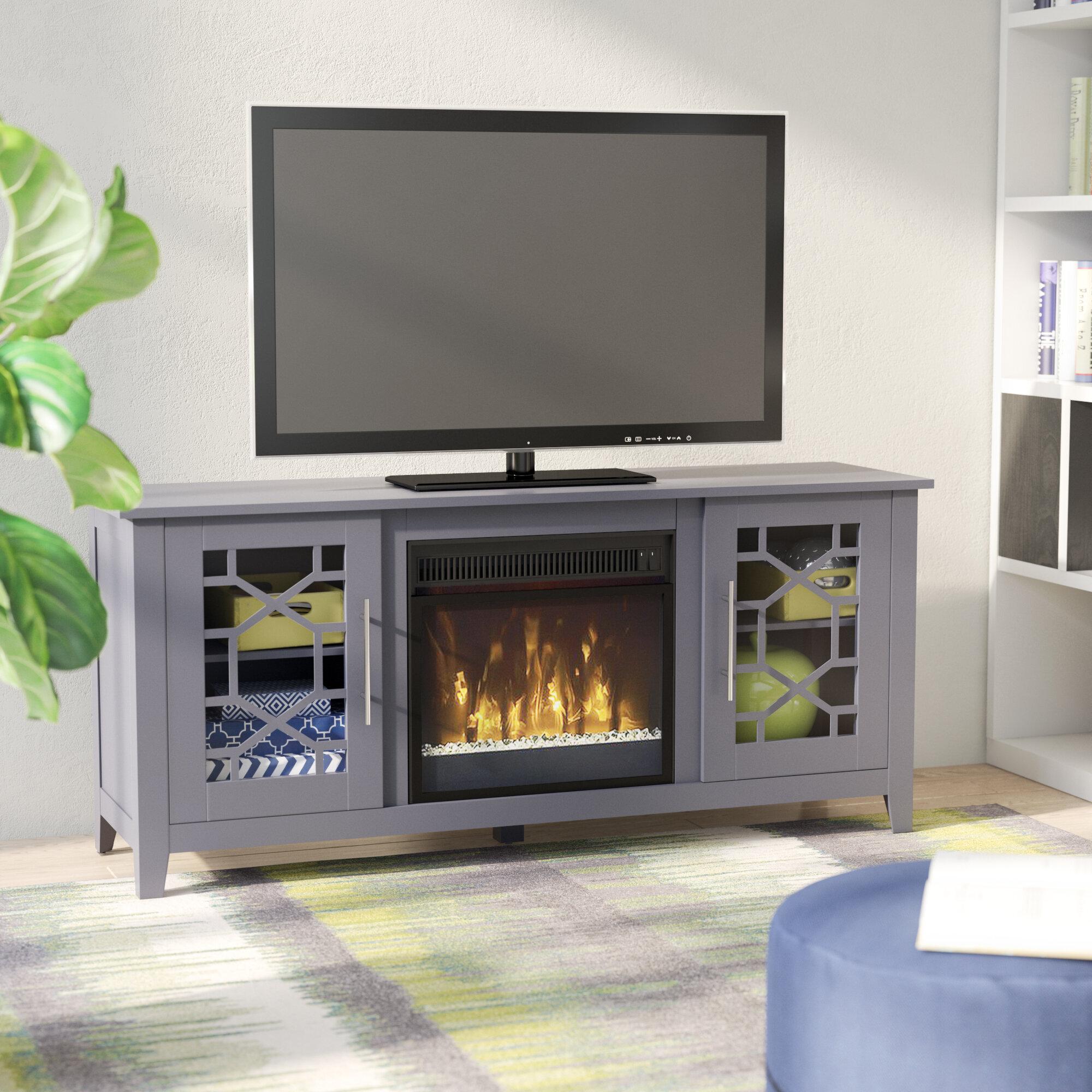 foundry tv stand fireplace wayfair laurel reviews furniture farmhouse dresser modern pdx serein with