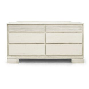 Vienna 6 Drawer Double Dresser