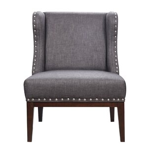 Rodrigez Upholstered Wingback Chair by Charlton Home