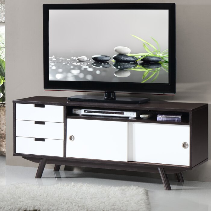 Foto Mobili Tv.Modern Tv Stand For Tvs Up To 55