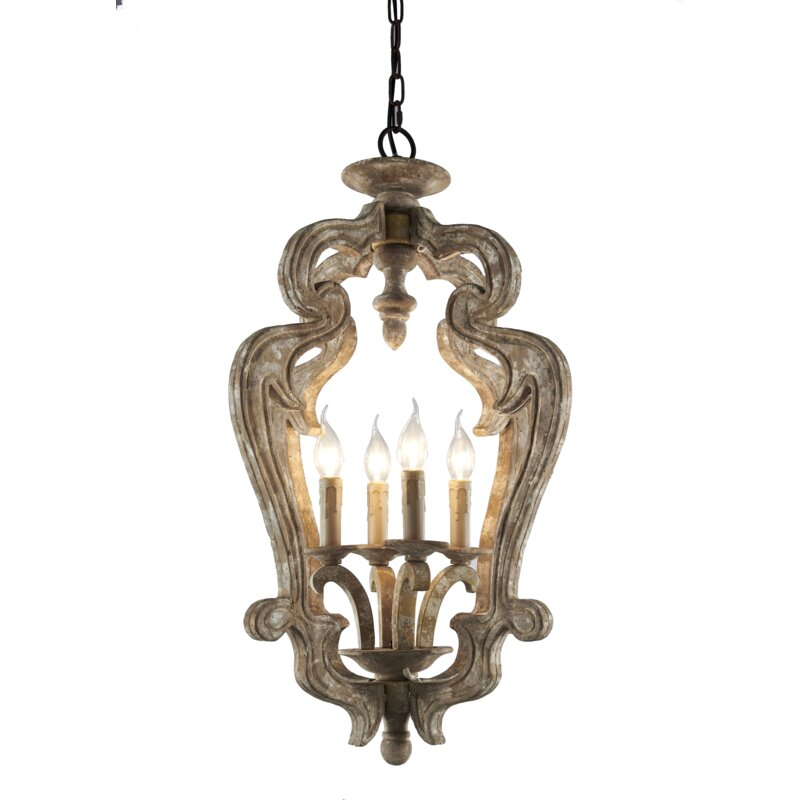 Bevis 4-Light Lantern Pendant