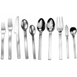 Splendide Lyon 45 Piece Flatware Set, Service for 8
