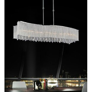 CWI Lighting Elsa 6-Light Kitchen Island ..