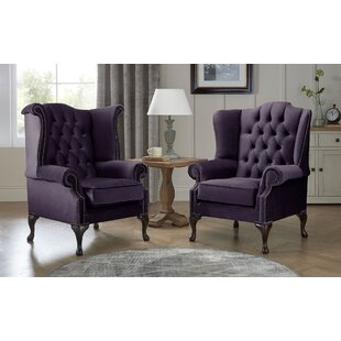 Review Tamesbury Wingback Chair