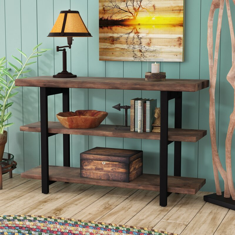 15 Entrance Hall Table Styles To Marvel At: Loon Peak Somers Console Table & Reviews