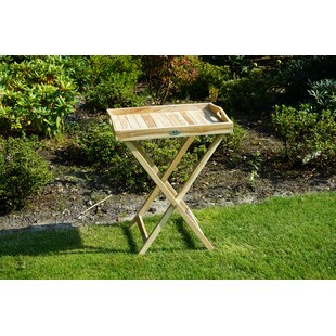 Eastfield Folding Teak Side Table By Sol 72 Outdoor