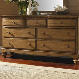 Loon Peak Harlowton 7 Drawer Dresser